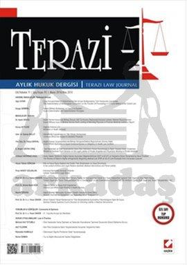 Terazi Aylık Hukuk Dergisi Sayı:93 Mayıs 2014