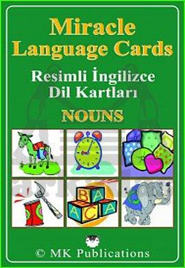 Miracle Language Cards - Nouns (Resimli İngilizce Dil Kartları)