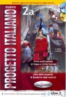 Nuovo Progetto Italiano 2A Edizione Aggiornata (Kitap Ve Çalışma Kitabı +Cd +Cdrom) İtalyanca Orta Seviye (B1)