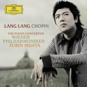 Lang Lang Chopin / The Piano Concertos Wiener Philharmoniker Zubin Mehta