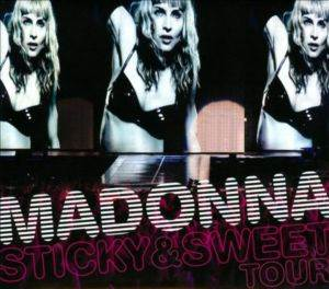 Madonna / Sricky & Sweet Tour (DVD + CD)