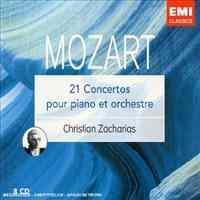 Mozart /21 Concertos Pour Piano et Orcharies / Chistian Zacharias