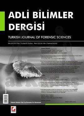 Adli Bilimler Dergisi – Cilt:9 Sayı:1 Mart 2010