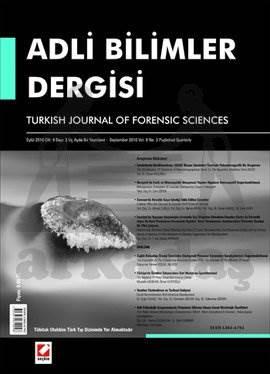 Adli Bilimler Dergisi – Cilt:9 Sayı:3 Eylül 2010