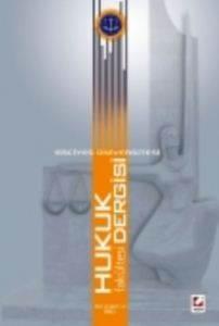 Erciyes Üniversitesi Hukuk Fakültesi Dergisi Cilt:6 Sayı:1–2