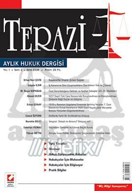 Terazi Aylık Hukuk Dergisi Sayı:2 Ekim 2006