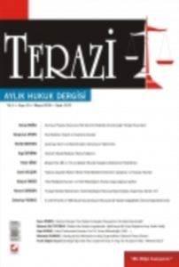 Terazi Aylık Hukuk Dergisi Sayı:33 Mayıs 2009