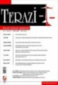 Terazi Aylık Hukuk Dergisi Sayı:37 Eylül 2009