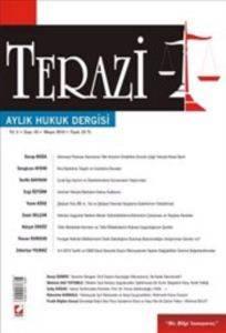 Terazi Aylık Hukuk Dergisi Sayı:45 Mayıs 2010