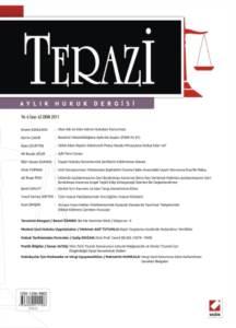 Terazi Aylık Hukuk Dergisi Sayı:62 Ekim 2011