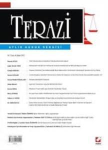 Terazi Aylık Hukuk Dergisi Sayı:66 Şubat 2012