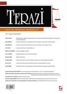 Terazi Aylık Hukuk Dergisi Sayı:67 Mart 2012