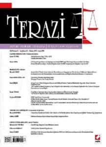Terazi Aylık Hukuk Dergisi Sayı:82 Haziran 2013