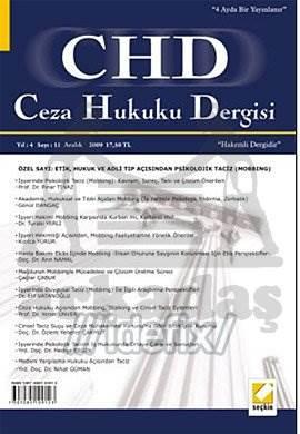 Ceza Hukuku Dergisi Sayı:11 Aralık 2009