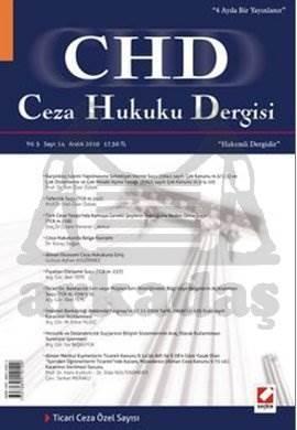 Ceza Hukuku Dergisi Sayı:14 Aralık 2010