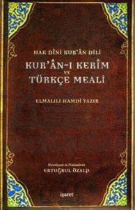 Kur'an-ı Kerim ve Türkçe Meali-Hak Dini Kur'an Dili (Cep Boy)