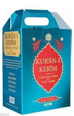 Kur'ân-I Kerim Açıklamalı Meali Ve Özet Tefsiri Set (3 Cilt)