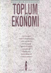 Toplum Ve Ekonomi;  Sayı 6 Mayıs 1994