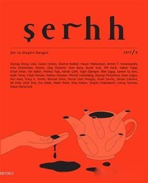 Şerhh Şiir Ve Eleştiri Dergisi Sayı 6