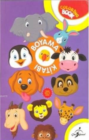 Aktiviteli Boyama Kitabı; Hayvanlar