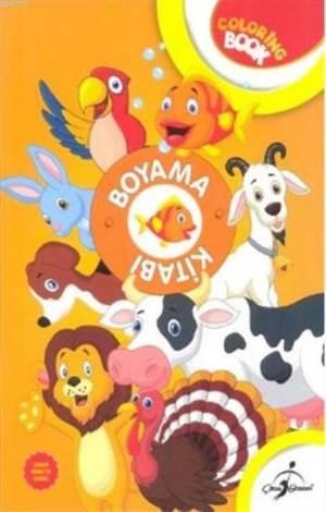 Aktiviteli Boyama Kitabı (Turuncu); Hayvanlar