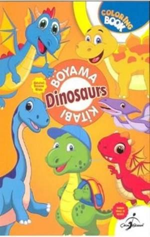 Aktiviteli Boyama Kitabı Dinozorlar