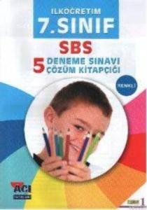 7.Sınıf SBS 5 Deneme Sınavı Çözüm Kitapçığı