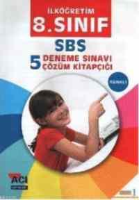 8.Sınıf SBS 5 Deneme Sınavı Çözüm Kitapçığı