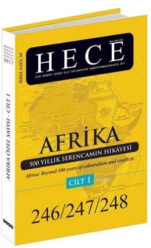 Hece Aylık Edebiyat Dergisi Sayı: 34 - Afrika Özel Sayısı 246/247/248 2 Cilt Takım; Haziran - Temmuz - Ağustos 2017
