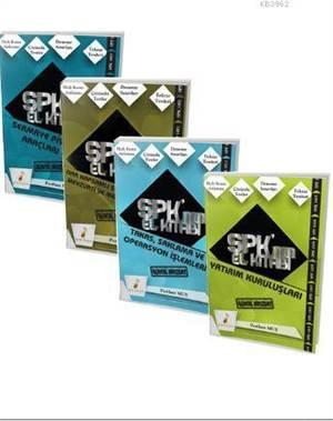 SPK Nın El Kitabı Sermaye Piyasası Faaliyetleri Düzey 1 Lisansı (4 Kitap)