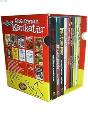 Çizgi Roman Karikatür Dizisi 10 Kitap Set; Özel Kutusu İçinde