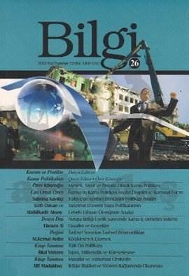 Bilgi Dergisi Sayı: 26