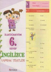 İngilizce Yaprak Testler 6. Sınıf