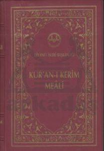 Kur'an-ı Kerim Meali (Cep Boy - Bordo Kapak)