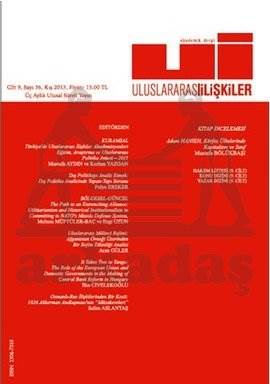 Uluslararası İlişkiler Dergisi Cilt: 9 Sayı: 36