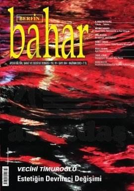 Berfin Bahar Dergisi Sayı: 184 Aylık Kültür Sanat ve Edebiyat Dergisi