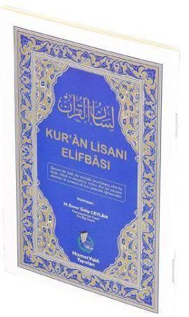 Kur'an Lisanı Elifbası; (Cep-Çanta Boy)