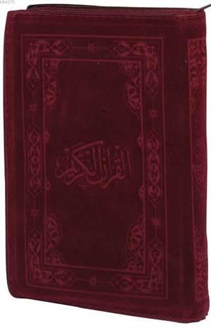 Kur'an-I Kerim; (4 Renkli, Çanta Boy, Miklepsiz Flok Kılıflı)
