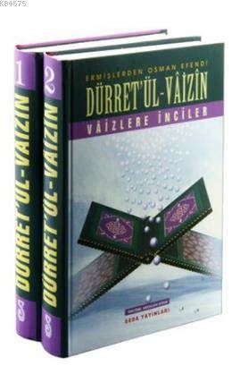 Düret'ül-Vaizin - Vaizlere İnciler (2 Cilt Takım) (kod 033)