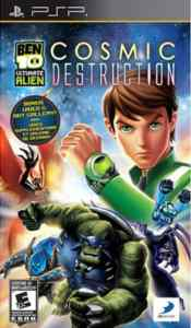 Ben 10 Ultimate Alien Cosmic Destruction (PSP)