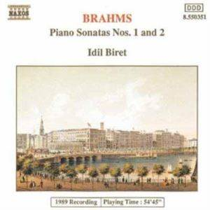 Brahms Piano Sonatas Nos 1 And 2