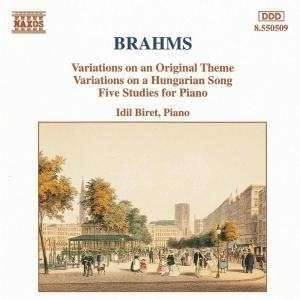 İdil Biret / Brahms Vari OP 21 Five Studies Cd