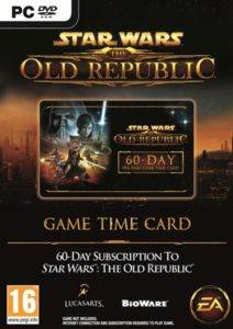 Star Wars The Old Republic Game Time Card