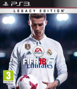 Psx3 Fifa 18 Legacy <br/>Edition