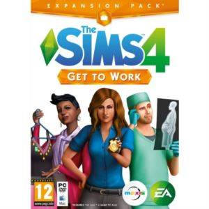 Sims 4  - Get The Work ( Eklenti Paketi )