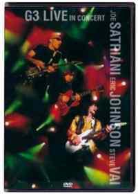 DVD/G3 LIVE CONCERT-SATRIANI-JOHNSON-VAI