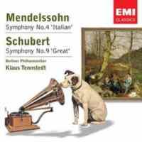 "Mendelssohn Symphony No.4 ""Italian"", Schubert Symphony No.9 ""Great"""