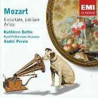 Mozart Exsultate, Jubilate Arias