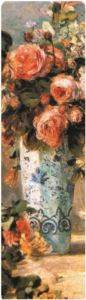 209-Auguste Renoir-Roses And Jasmine In A Delft Vase-Kitap Ayracı