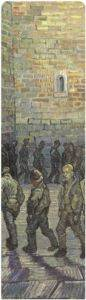 211-Vincent Van Gogh-Prisoners Exercising (After Doré)-Kitap Ayracı